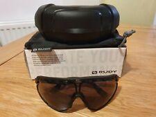 Rudy Project Defender Sunglasses – Black Frame + Multiple Lenses