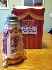 Anheuser Busch Opera Card Series Stein L.E. Cs373 Budweiser