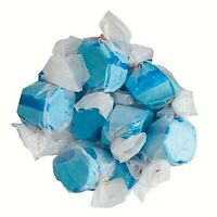 GOURMET BLUE RASPBERRY Salt Water Taffy Candy TAFFY TOWN 1/4 to 10 LB BAG