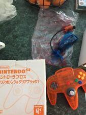 Vintage Orange Nintendo Daiei Hawk 64 Box controller BRAND NEW NEVER USED