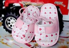 NEW Rising Star Pink Sandals w/ Rubber Sole 6-12 months Size 4