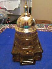 "Vintage Avon ""The Capital"" tribute aftershave decanter 5 fl. oz. Perfume Bottle"