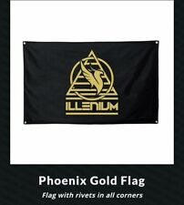 Illenium Tri Circle Gold Flag