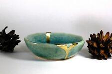 Kintsugi - Blue Chidori ( Small )