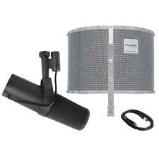 Shure SM7B Vocal Microphone with Marantz Professional Sound Shield Live