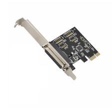 PCI-E Parallel Port DB25 LPT Printer Card Adapter US Stock