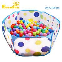 EOCUSUN - Kids Outdoor / Indoor Game Play Children Toy Tent Ocean Ball Pit Pool