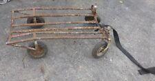 alter Wagen Handwagen 🐷 Leiterwagen 🐷 Gestell massiv 🐷 Bastler 13,5 kg