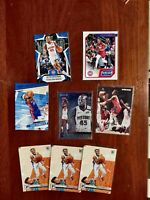 8 card Sekou Doumbouya  RC Chronicles LOT Detroit Pistons