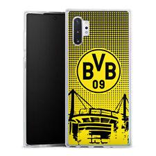 Samsung Galaxy Note 10 Plus Silikon Hülle Case Handyhülle  - BVB Dots