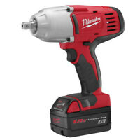 Milwaukee M18 1/2 in. Li-Ion High Torque Impact Wrench Kit 2662-21 New