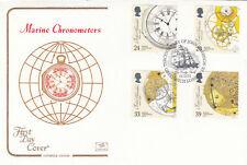 (12312) GB FDC Marine Timekeepers Greenwich 16 February 1993