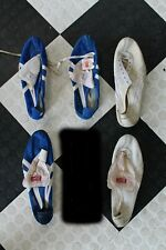 """VINTAGE Onitsuka Tiger """"Asics"""" Mix n Match Track Spikes (5) Lot - Please Read"""