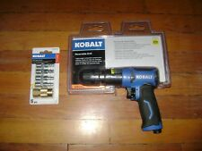"Kobalt 3/8"" Forward/Rev.Rocker Switch Air Drill #Sgy-Air222 w/ 1/4"" Npt Coupler"