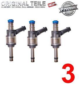 3  New Genuine Injectors for Audi 3.0  06C906036H  A6  A7 A8 Q7  High Pressure