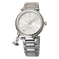New Vivienne Westwood Women's Watch ORB Silver Stainless VV006SL With Tracking