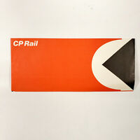 1974 Canadian Pacific Railroad CP Rail Ticket Folder Canada Vintage Travel