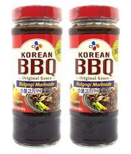 CJ Korean BBQ Bulgogi Marinade Sauce 16.9 Oz. (Pack of 2)