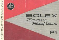 Bolex P1 Zoom Reflex Instruction Manual