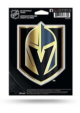 "Vegas Golden Knights Rico 5"" METALLIC DECAL Die Cut Auto Sticker Emblem Hockey"