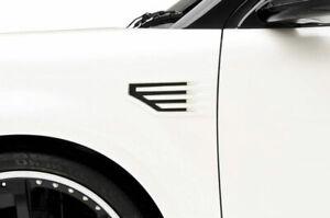 Fits 09-19 Ford Flex 3dCarbon Urethane Functional Front Fender Vents Pair 691598