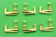 Violin Accessories.50 pcs Good Brand golden 4/4-3/4 violin fine tuners