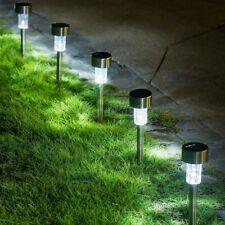 New listing Gigalumi 15 Pack Solar Path Lights Outdoor,Solar Lights Outdoor Garden Led Light