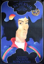 Copernicus Kopernik polnisches Filmposter A1 GEROLLT Polen Kopiczynski, Swierzy