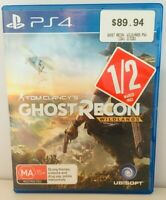Tom Clancy's Ghost Recon: Wildlands (PlayStation 4, 2017)