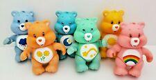 "Care Bears TCFC Poseable Figures Lot 3"" Grumpy Bear Cheer Friend Bedtime Toy"