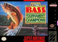 TNN Bass Tournament of Champions Super Nintendo Game SNES Used