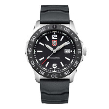 Luminox Pacific Diver 3120 Series Silver Dial Rubber Strap Men's Watch XS.3121