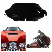 8'' Wave Windshield Windscreen For Harley Touring Electra Glide Ultra Classic