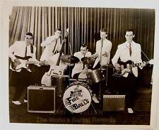 Original1950's 8x10 Publicity Photo Fire Balls Rock