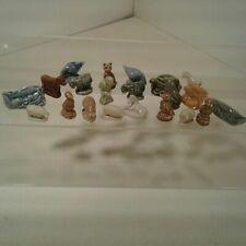 21 Tetley Tea, Red Rose Ceramic Animal Figurines