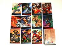 1995 FLEER MARVEL VS DC BASE 100 CARD SET! WOLVERINE! AVENGERS! BATMAN! + BALLOT