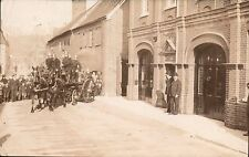 Salisbury photo. Fire Brigade by Witcomb & Sons, Salisbury & Yeovil.