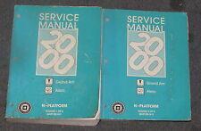2000 Pontiac Grand Am Olds Alero Service Manual Set