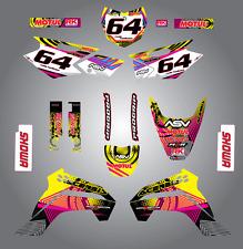 Full Custom Graphic Kit Kawasaki KLX 140  years 2015 - 2016 / stickers / decals