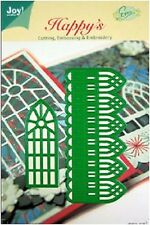 Joy crafts die cut/gaufrer/broderie pochoir noël fenêtre ruler 6002/2010