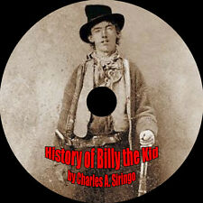 History of Billy the Kid, Charles A. Siringo, MP3 AudioBook 1 CD