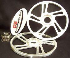"Billet 9"" Idler wheels Skidoo / Actic Cat / Polaris / Yamaha snowmobiles"