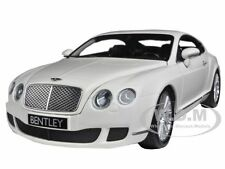 2008 BENTLEY CONTINENTAL GT WHITE 1/18 DIECAST MODEL CAR BY MINICHAMPS 100139621