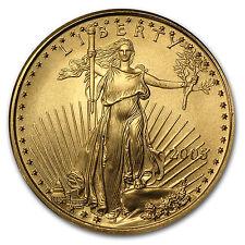 2005 1/4 oz Gold American Eagle Coin - Brilliant Uncirculated