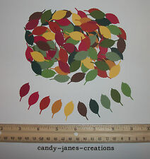 100 MARTHA STEWART FALL ROSE LEAF PAPER PUNCHES/ CUT OUTS/ EMBELLISHMENTS