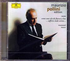 Maurizio POLLINI: NONO Como una ola de fuerza y MANZONI Masse CD ABBADO SINOPOLI