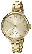 Marc Jacobs MBM3363 Sally Champagne Dial Gold Tone Stainless Steel Women's Watch
