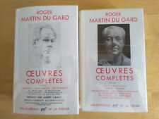 La Pléiade Roger Martin the Gard Complete Works Tome I & II 1959/59