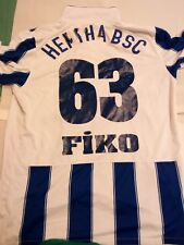 hertha BSC Home 2014 Futßball Trikot | size m Nr 63