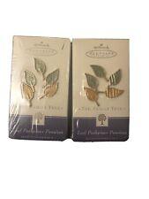 Hallmark Keepsake The Family Tree Leaf Pushpins Set of 5 Each Box ( 2 Boxes )